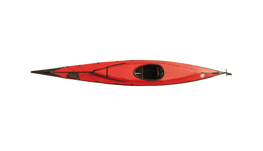 Triton advanced Ladoga 1 advanced - Bateau - Komplett-Set rouge/noir